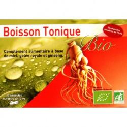 Ginseng et Gelée Royale Bio