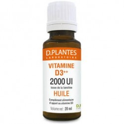 Vitamine D3 ++ Huile 2000 UI